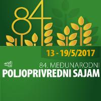 Poljoprivredni sajam Novi Sad, Srbija 13.05-19.05. 78I parcela