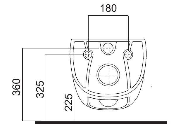Fluenta Rimless toilet seat 2