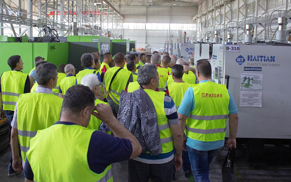 Visit of Metaloproizvod company 1