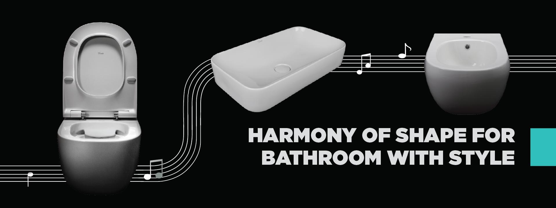 Harmony of shape - Fluenta sanitary ceramics